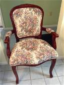 """Upholstered Arm Chair 37"""" tall"""