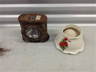 WWII lantern and more
