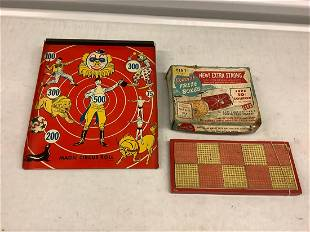 Lot of Kordite Freeze Boxes, Circus Target, and More