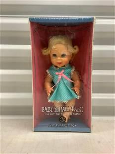 "1967 Mattel Sealed ""Baby Small Talk"" Doll"