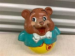 """1969 Fisher-Price """"Poly Poly Bear Toy"""""""