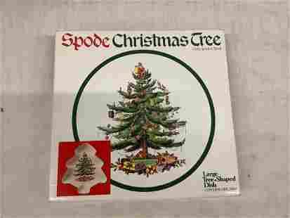 Spode Christmas tree dish