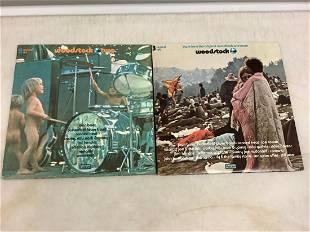 Vintage Woodstock records