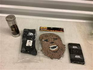 Star Wars Collector Mask, Star Wars socks, and more