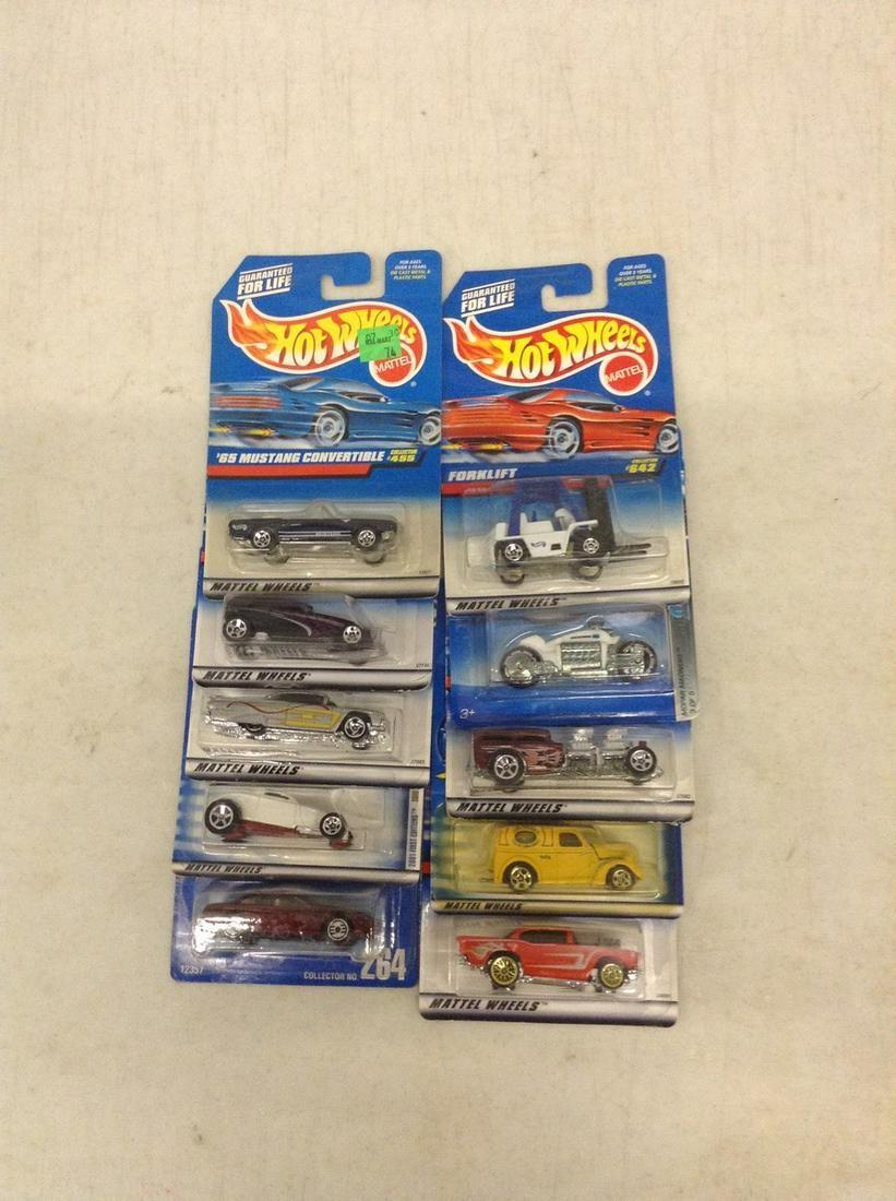 10 Packs of Hot Wheels