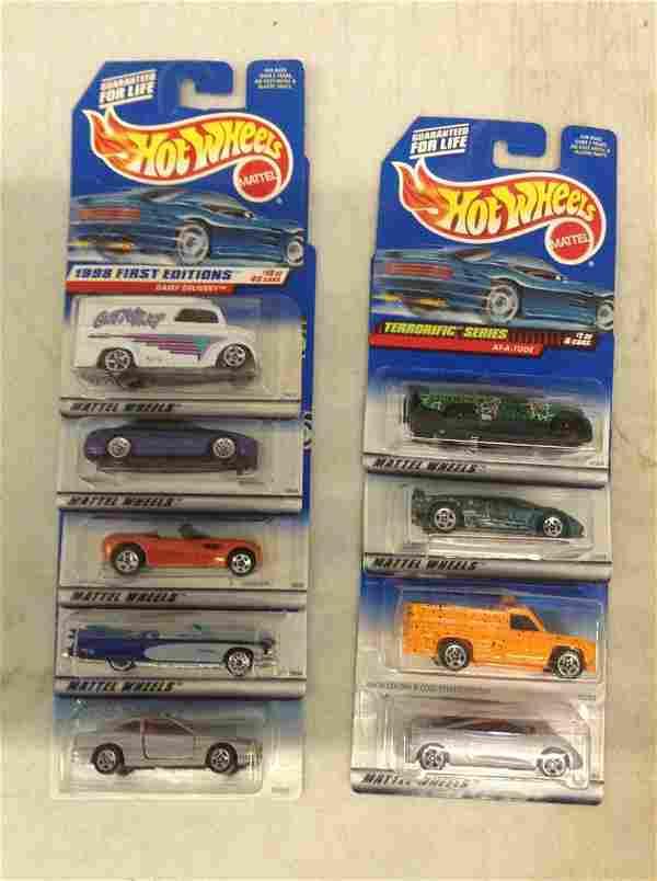 9 Packs of Hot Wheels