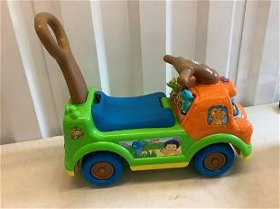 Fisher Price little people dinosaur car