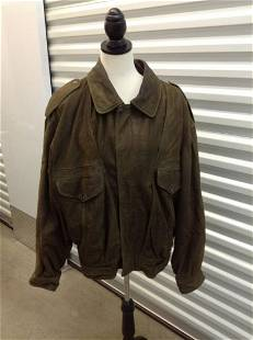 Vera Pelle Made in Italy Leather Jacket Women's Size 50