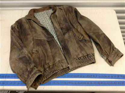 Vera Pelle Made in Italy Leather Jacket Size M