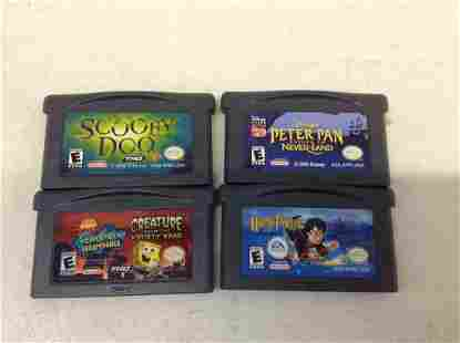 Gameboy Advance Harry Potter and other games