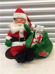 "Anna Lee Santa with Sack of Toys 31"" tall"