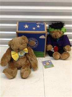 Lot of Vermont Teddy Bears one with box