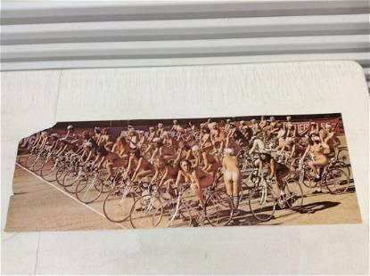 "1978 Queen Jazz Album ""Fat Bottom Girls"" Poster (Small"
