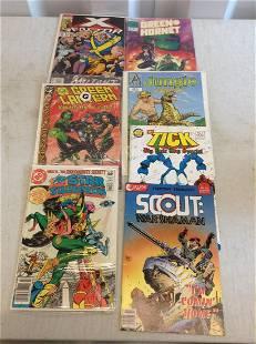 Lot of comics justice league, viper and more