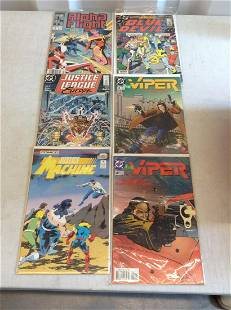 lot of comics justice league, scout and more