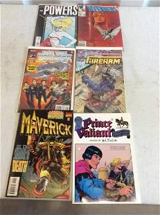 lot of comics superman ironman and more