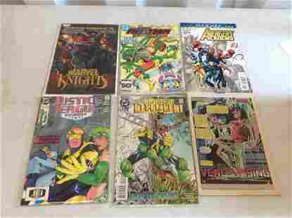 Lot of marvel and DC comics