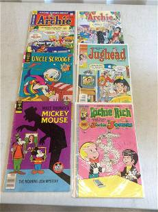 lot of archie and other comics