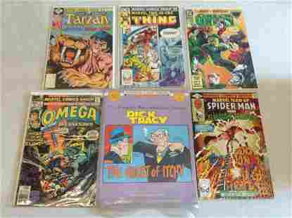 Lot of DC marvel and other comics