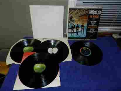 2 vintage Beatles LPs