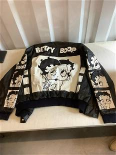Betty Boop Leather jacket Large