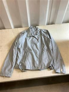 Westport blue leather jacket large