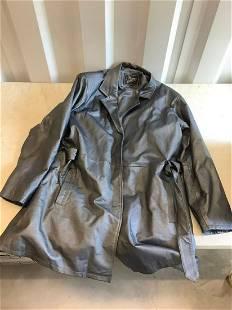 midnight velvet 2XL leather jacket