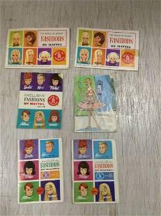 1963 & 1965 Mattel Barbie & Friends Fashion Catalogue