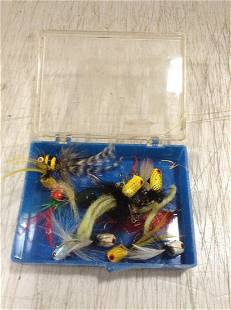 Box full of Fly Fishing Lures