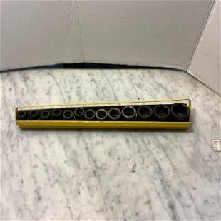 set of impact sockets mac tools .5 inch drive