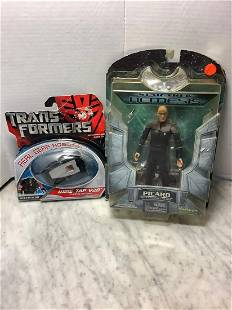 Transformers wiretap v20 and star trek nemesis Picard