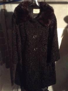 Vintage Knauer's Fur Shop Fur Coat Great Condition