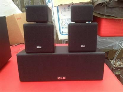 KLM Speakers 10S & 9C