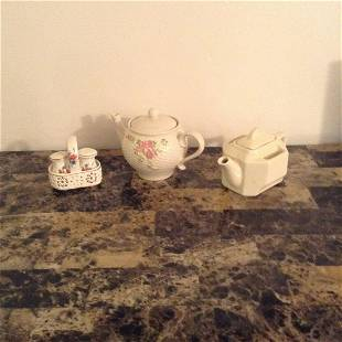 A Teleflora Gift Teapot, Salt & Pepper Shakers and More