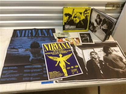 Treasures of Nirvana Box Set Complete with posters and