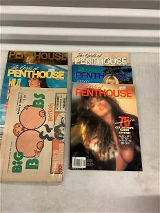 Lot of Adult Magazines and Vintage Paper