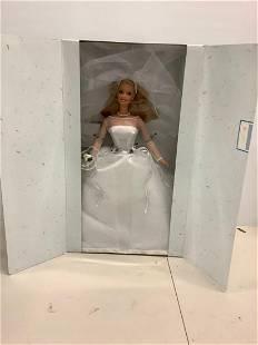 Blushing Bride barbie in box