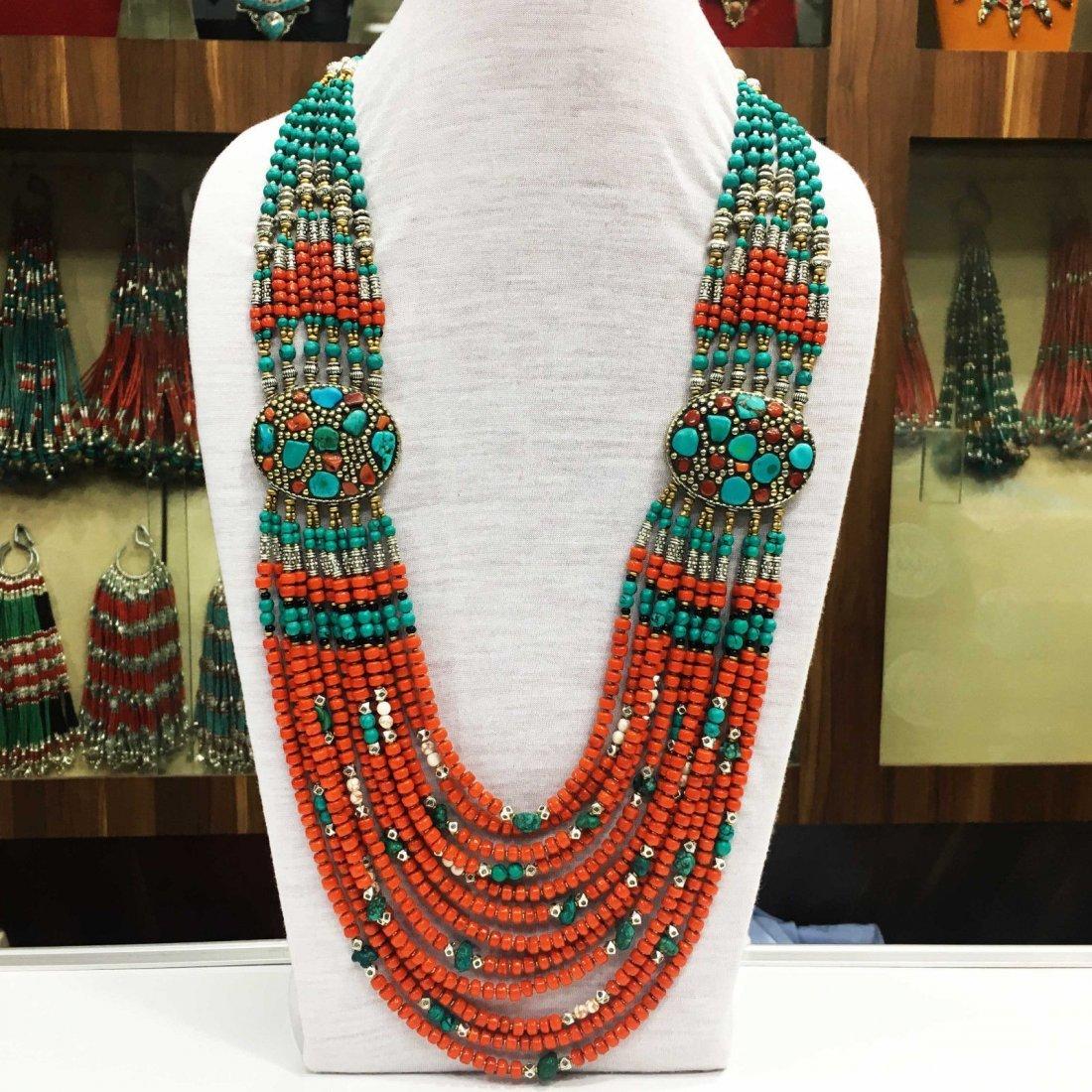 Tibetan & Nepalese Tibetan Silver Women's Necklace