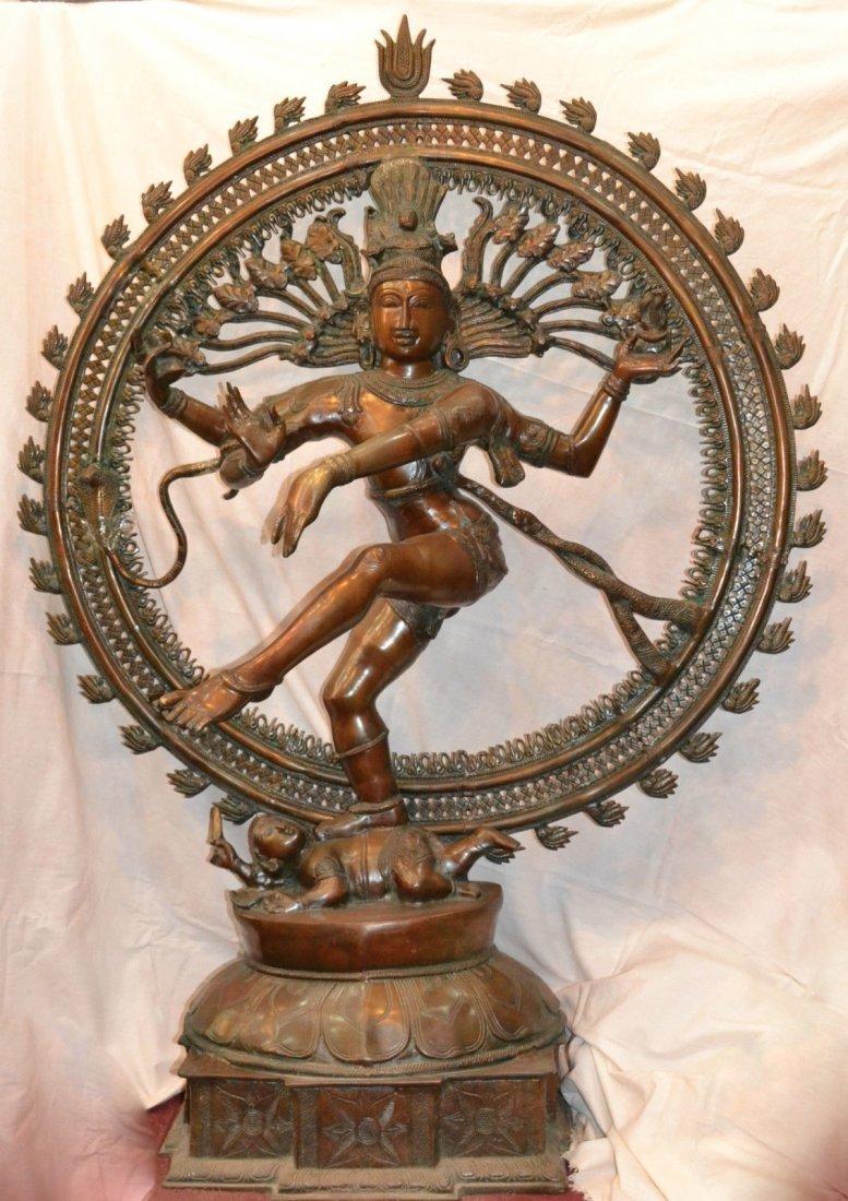 Masterpiece Dancing Shiva Nataraj 5,5 ft 90 kg