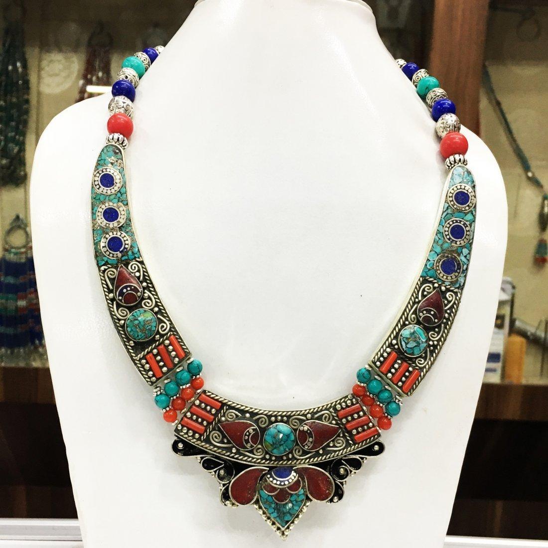 Charm Big & Bold Choker Handmade Necklace