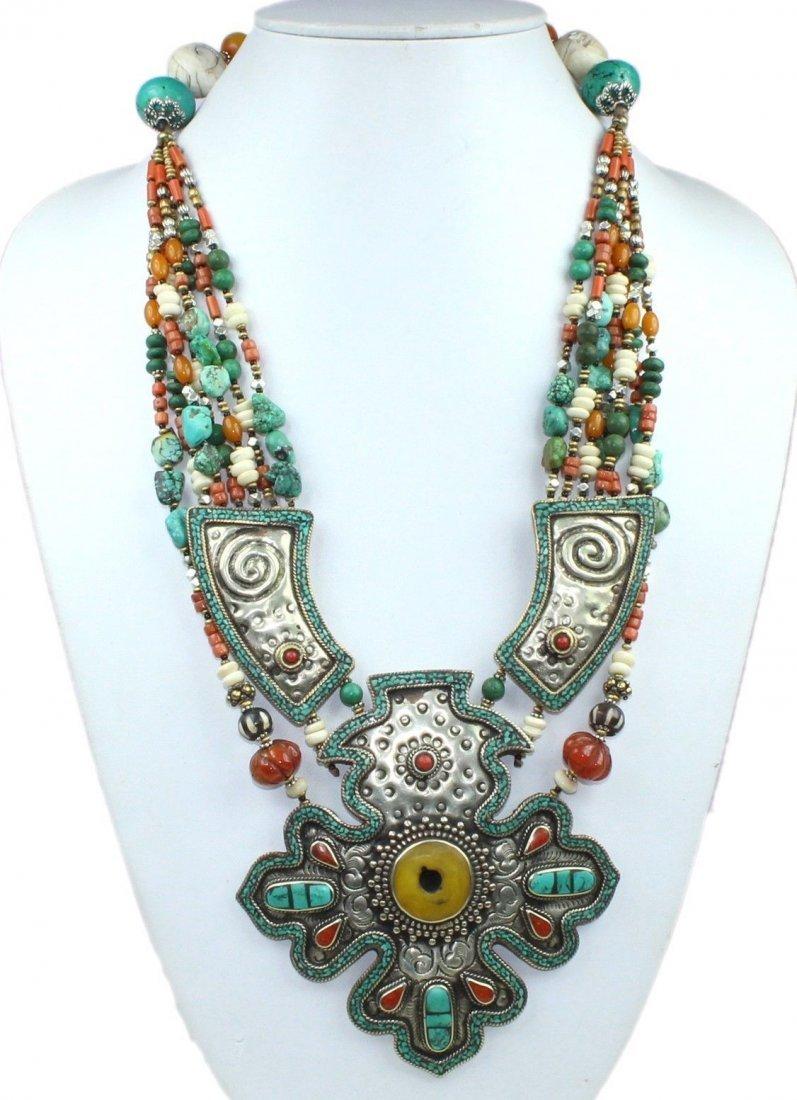Nepalese Handmade Tribal Choker Necklace