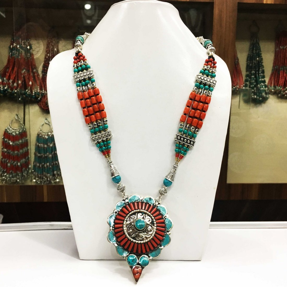 Genuine Tibetan Handmade Nepali Necklace