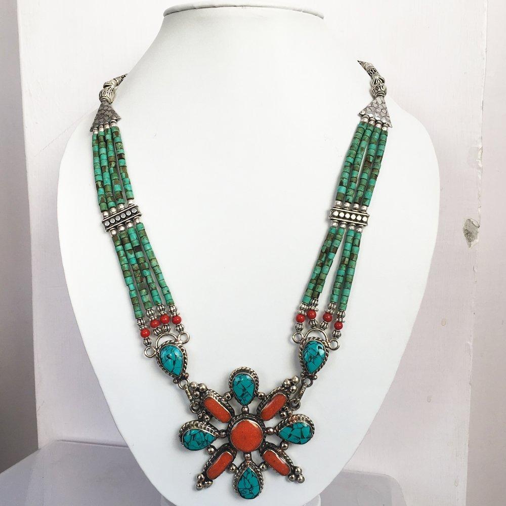 Tribal Ethnic Handmade Jewelry Necklace