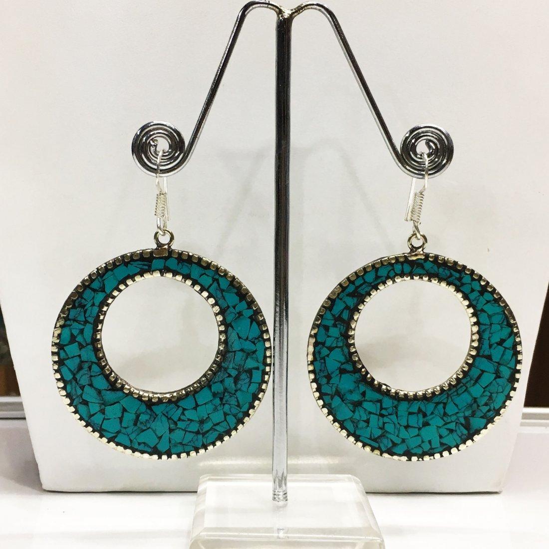 Royal & Vintage Tibetan Handmade Earring