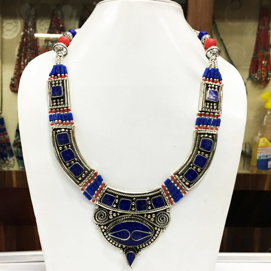 Beautiful Handmade Antique Kuchi Necklace
