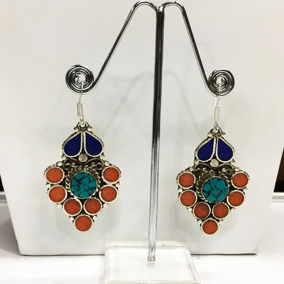 Beautiful handmade New Tibetan Earring
