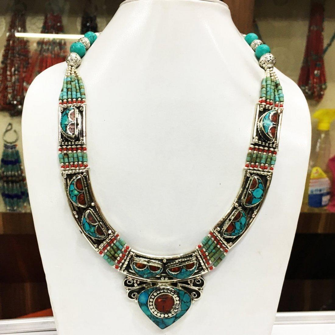 Gypsy Ethnic Antique Choker Handmade Necklace