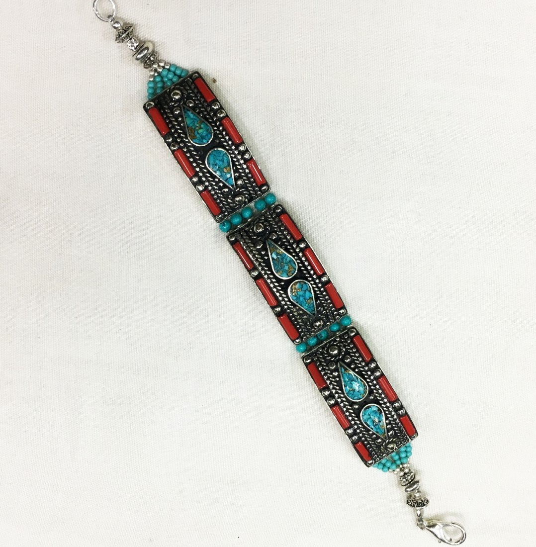 Enchanting Vintage Tibetan Bracelet