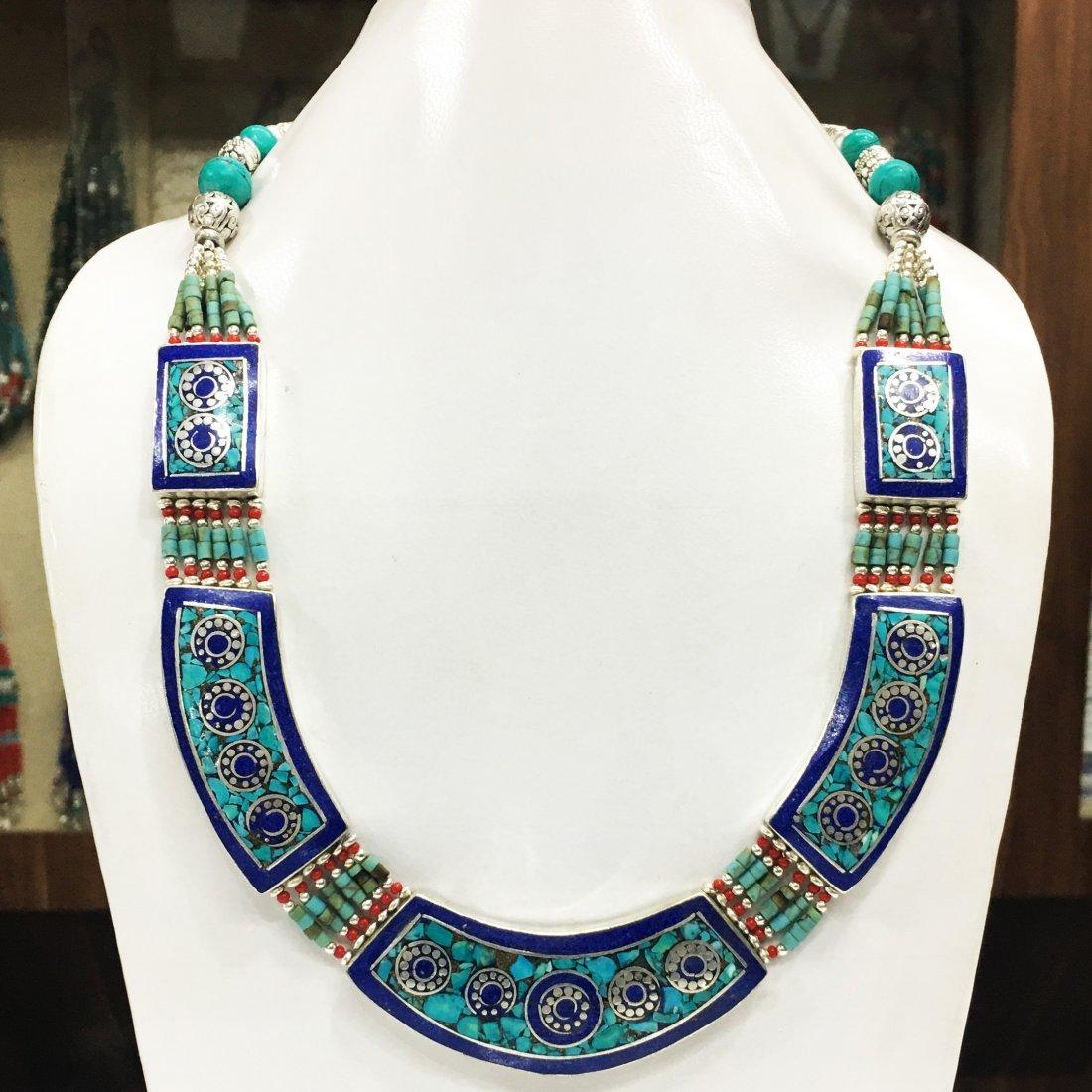 Handmade Annapurna Tibetan Style Necklace