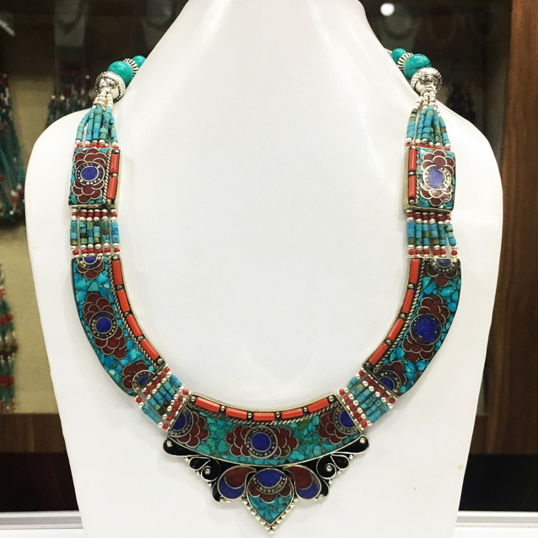 Ethnic Antique Choker Handmade Necklace